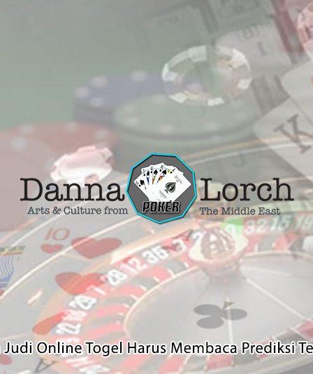 Judi Online Togel Harus Membaca Prediksi Terlebih - Situs Poker Online